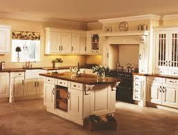 Kitchen Alcove Cream Range Oven In Alcove In Cream Kitchen With Heart Shaped
