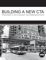 Building A New Cta Chicago Transit Authority