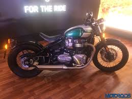triumph bonneville bobber india launch live latest updates