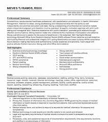 Medical Record Reviewer Hedis Abstractor Resume Example