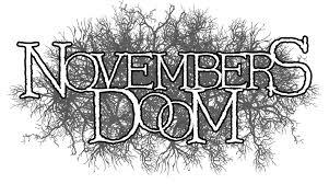 Logo Sticker — Novembers Doom