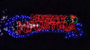 Merry Christmas Light Up Sign For Roof Rope Light Merry Christmas Sign Xs1633