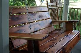 How To Build A Porch Swing I Believe In Front Porch Swings Decoto