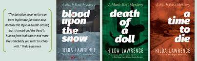 A Time to Die: A Mark East Mystery: Lawrence, Hilda: 9780486827605:  Amazon.com: Books
