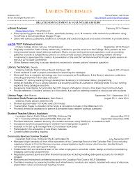 Librarian Resume Sample Free Resume Example And Writing Download