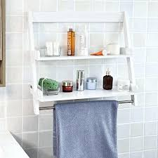 bathroom shelves decor. Bathroom Shelf Ideas Amazon Com W White Wall Mounted Storage Regarding Hanging Shelves Decor