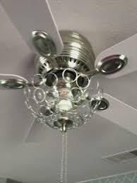 lighting ceiling fan chandelier combo diy combination crystal
