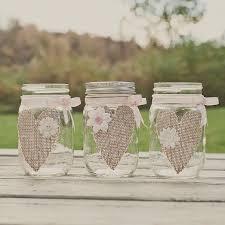 Decorating With Mason Jars And Burlap 60 best Mason Jar Madness images on Pinterest Mason jars Jars 45