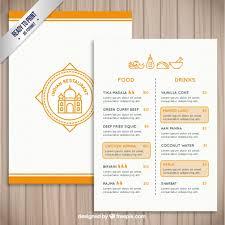 Indian Restaurant Template Vector Free Download