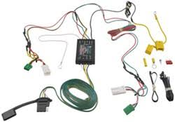 trailer wiring harness installation 2013 dodge charger video 1970 Dodge Charger Wiring Harness curt t connector vehicle wiring harness with 4 pole flat trailer connector 1970 dodge charger rear wiring harness