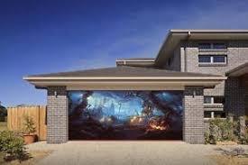 image is loading y pumpkin 3d effect garage door billboard