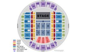 Ms Coliseum Jackson Seating Chart Mississippi Coliseum Primary Seating Configuration