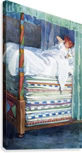 princess and the pea illustration. Modren Pea The Princess And The Pea Colour Illustration By Helen Stratton From  Book Hans Andersenu0027s For And Pea Illustration E
