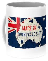 A hot cup of coffee or tea in your hands while you enjoy the sunrise? Made In Townsville City Australia Townsvillecity Australia Coffee Mug For Sale By Tintodesigns