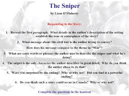 the sniper short story essay term paper service the sniper short story essay