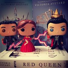 cal mare and maven custom pop vinyls from red queen series by victoria aveyard