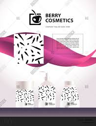Cosmetic Label Design Template Vector Cosmetic Vector Photo Free Trial Bigstock