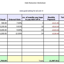 debt reduction calculator snowball debt reduction calculator snowball spreadsheet pdf excel free