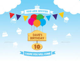 Invitations Card For Birthday 12 Post Card Birthday Invitations Free Psd Vector Eps Ai