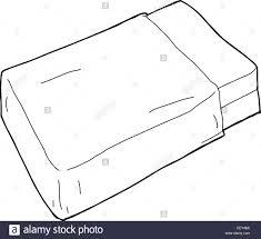 mattress drawing. Beautiful Mattress Single Hand Drawn Bed Mattress With Blanket  Stock Image To Mattress Drawing