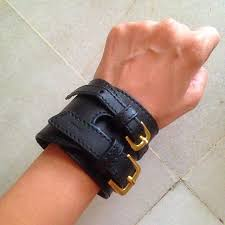 preloved charles keith leather wrist brace women s fashion on carou