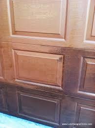metal garage door makeover before and after lucy designs
