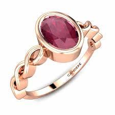 Ruby Stone Gold Ring Design Avryl Ruby Ring