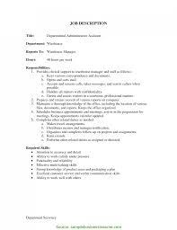 Best Warehouse Administrator Job Description Sample Administrative