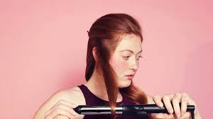 here s how to use a curling iron for