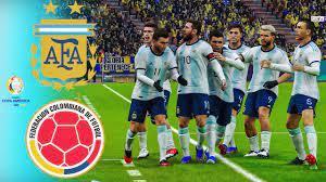 PES 2021 - Argentina vs Colombia