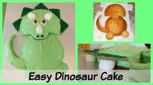 Dinosaur Cake Ideas Easy Triceratops Dinosaur Birthday Cake Recipe
