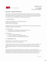 Chartered Accountant Cover Letter Sarahepps Com