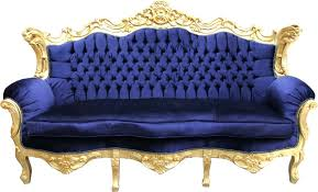 casa padrino baroque sofa master royal blue gold living room royal blue couch royal blue sofa
