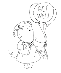 Feel Better Coloring Pages So Doctors Page Good Acnee