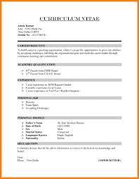 6 How To Write Cv Sample Emt Resume Do You A With No Work Experience