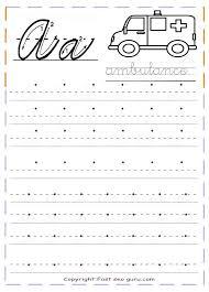 Kindergarten Practice Worksheets Free Handwriting Practice