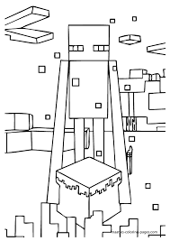 54 Mincraft Coloring Pages Minecraft Creeper Colouring Pages