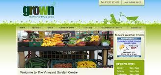 Garden Centre Website Design Kent Charity Web Design Company Inspiration Garden Web Design Design