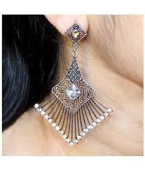 Designer Earrings Online Shopping India Ridhim Designer Earrings Buy Ridhim Designer Earrings