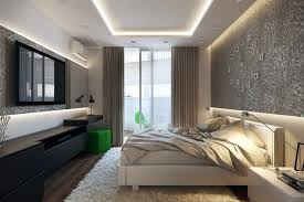 modern bedroom green. Modern Black And White Green Bedroom Interior Design D