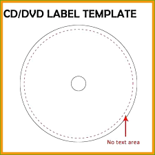 Cover Disc Label Template R Cd Word 2016 Stomper