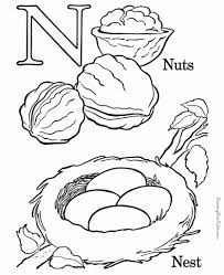 Letter N Coloring Pages Free Coloring Pages intended for The ...
