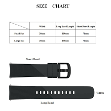 Gear S2 Band Size Chart Us 1 81 20 Off Strap Replacement 20mm Silicone Watch Band For Samsung Gear Sport Gear S2 Classic R732 Galaxy Watch 42mm Ticwatch E 2 Huawei 2 In