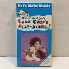 Lamb Chops Play Along Lets Make Music Vhs 1993