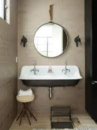 wall mounted trough sink foter