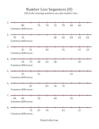 Sequence Numbers Worksheets Counting To Worksheets For Kindergarten ...