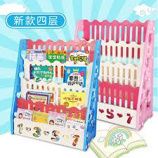 baby bookshelf children bookshelf cartoon kindergarten simple bookcase plastic baby children picture book frame