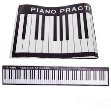 88 keys piano practice keyboard sticker on desk exercises high quality 88 key piano china piano practice supp 88 key with 11 72 piece on
