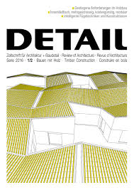 Detail 122016 Timber Construction English By Detail Issuu
