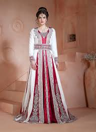 Handmade Punjabi Suit Design Lovable White Color Brasso Satin Handmade Moroccan